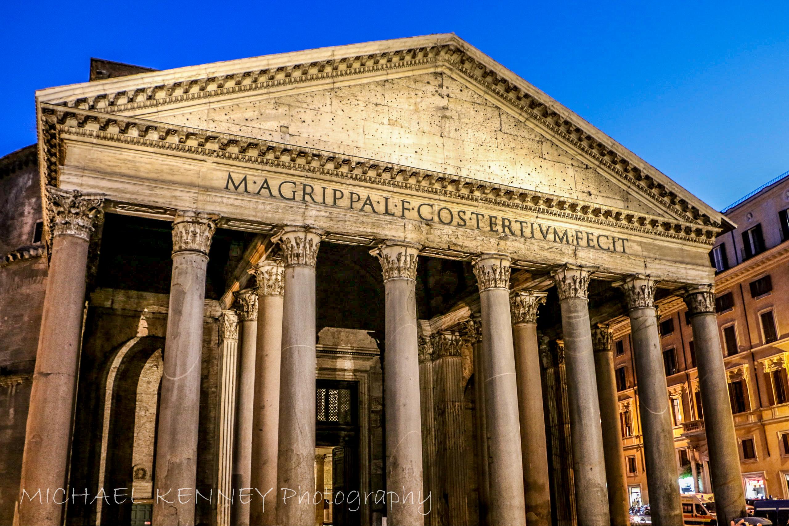Pantheon Columns, Rome, Italy-1