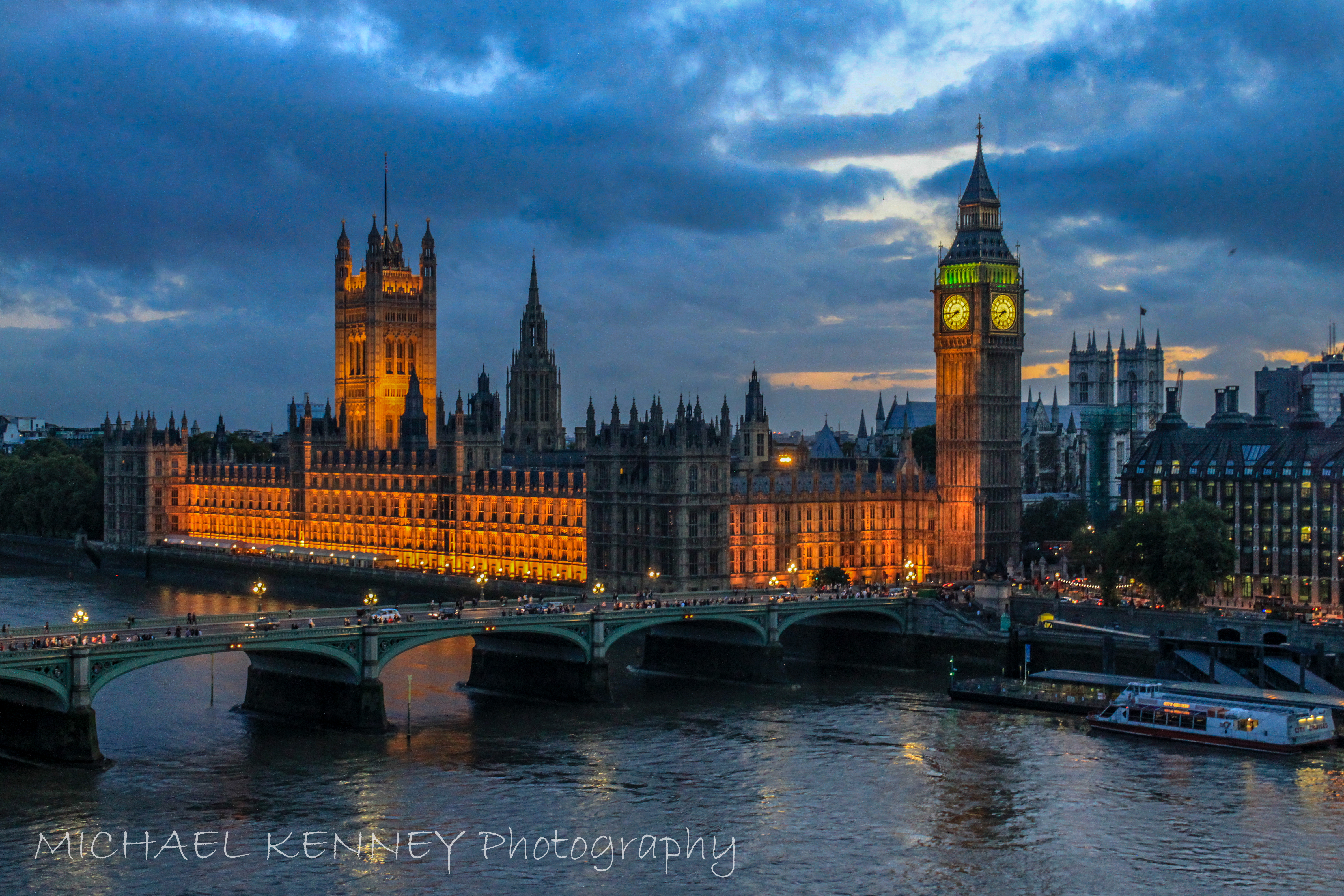 Parliment and Big Ben, London-1