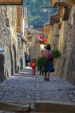 Incan village, Sacred Valley