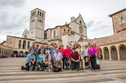 JGilbert group photo Assisi