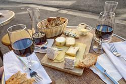 wine and cheese tastings