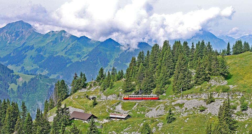 Kleine Scheidegg Train Ride