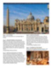 Brochure of tour to Italy, AM 890 AGNEWS Mick Kjar