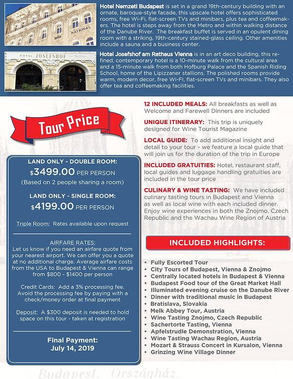 Budapest & Vienna brochure itinerary4.jp