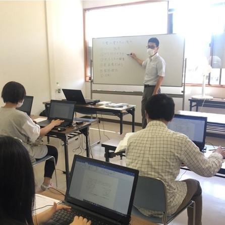 中島先生によるPC講習 6月20日土