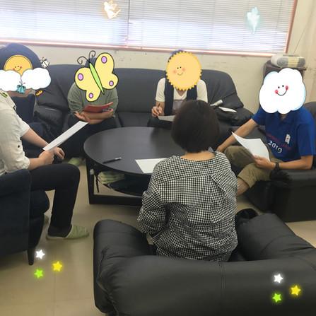 こころのセミナーやってます(^_-)-☆