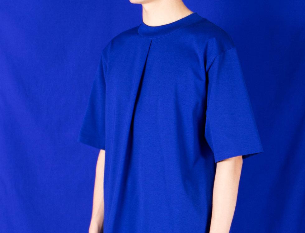 PLEATED FRONT OVERSIZED T-SHIRT プリーツフロントオーバーサイズTシャツ【受注予約】