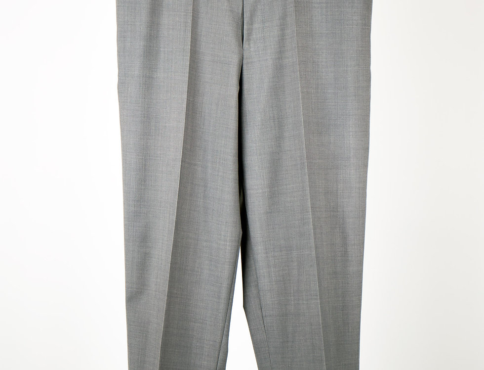 Medium Wide Trousers (Jet Pocket) ミディアムワイドトラウザーズ(両玉縁バックポケット)【2021年4月入荷予定】