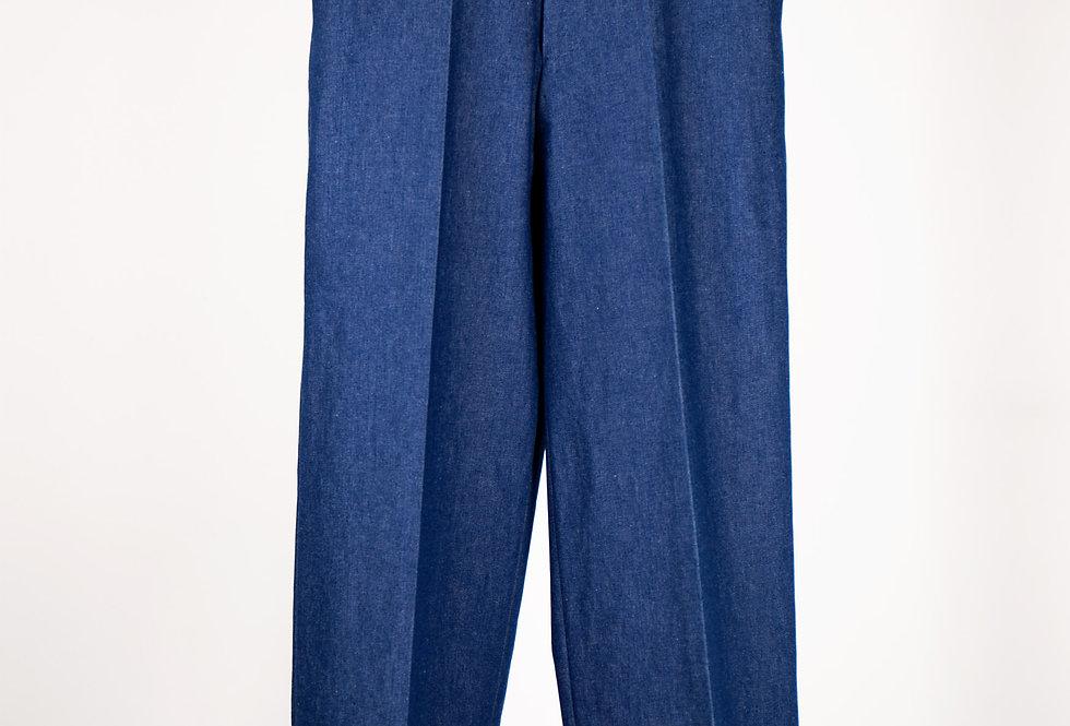 Wide Straight Denim Trousers ワイドストレートデニムトラウザーズ
