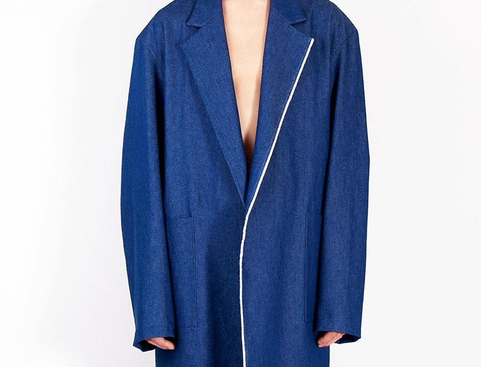 Painters' Work Coat (Blue Denim)   ペインターズワークコート(ブルーデニム) 【完売】