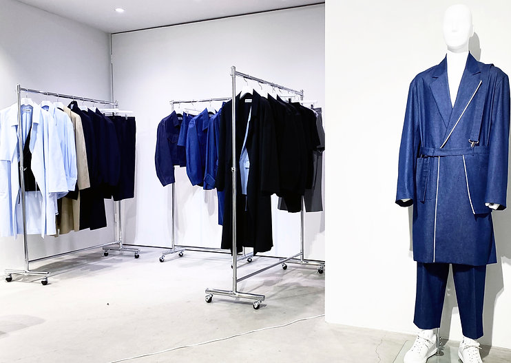 SARTOGRAPH SS2021 MEN SHOWROOM