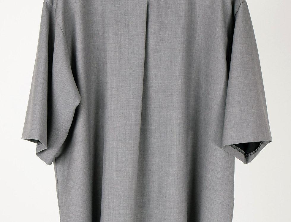 Oversized Technical Pleated T-shirt オーバーサイズテクニカルプリーツTシャツ【完売】