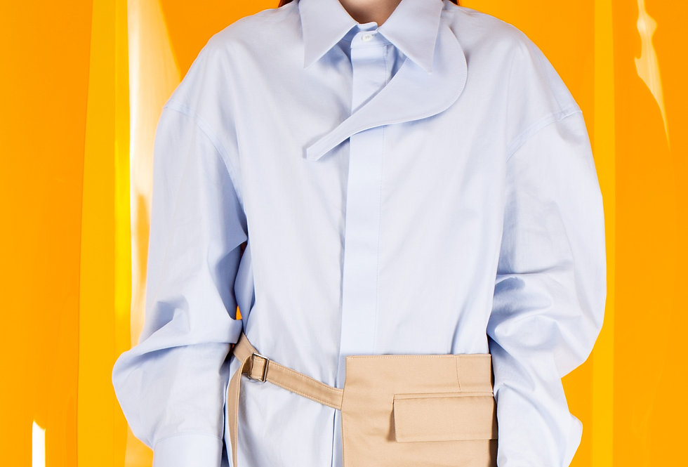 Graphic Designers' Oversized Shirt (Women) グラフィックデザイナーズオーバーサイズシャツ【完売】