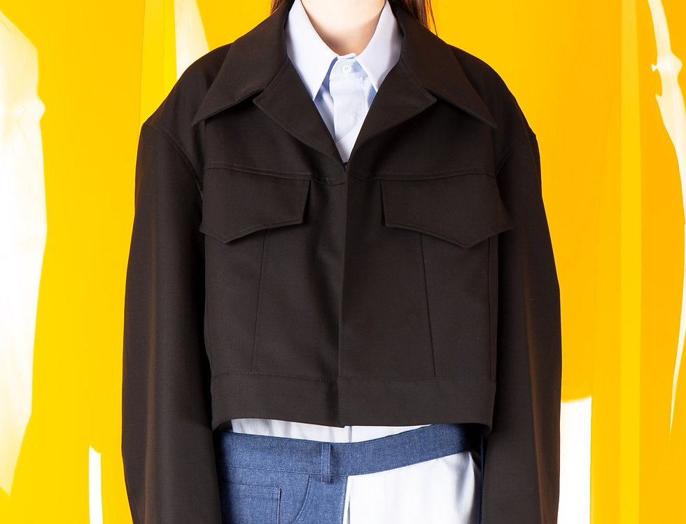 Sculptors' Open Collar Work Jacket(Women) スカルプターズオープンカラーワークジャケット【完売】