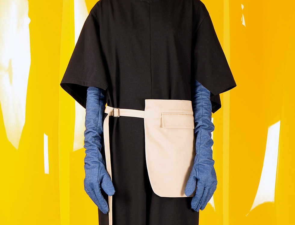 Open Sleeve T-shirt Dress オープンスリーブTシャツドレス【完売】