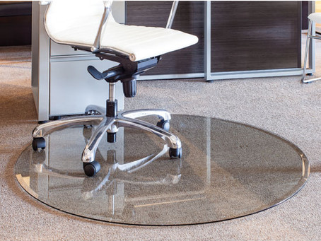 Never Replace Your Chair Mat Again By Choosing Beautiful Glass