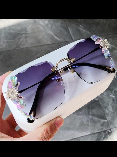 Purple Terrain Sunglasses