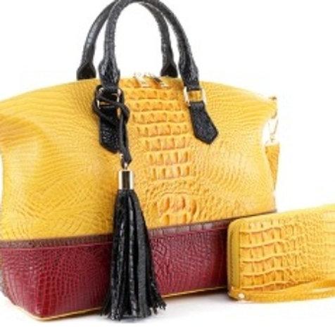 Emperia Handbag (Yellow)