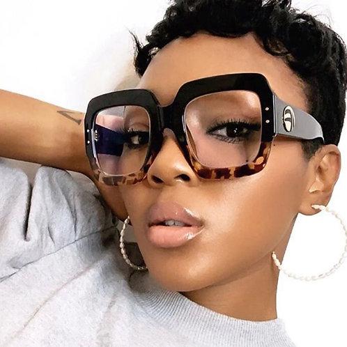 Fashion Leopard Glasses