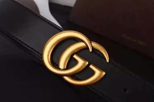 Gold trendy belt
