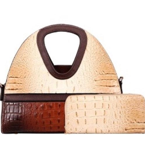 Diophy Handbag (Cream)