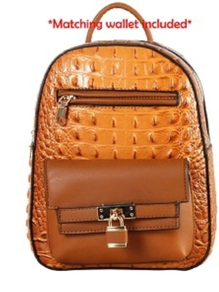 Diophy Backpack (Caramel)