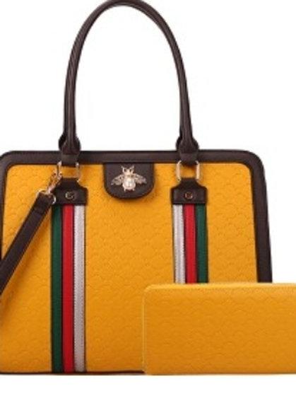 Bee Diophy Handbag (Yellow)