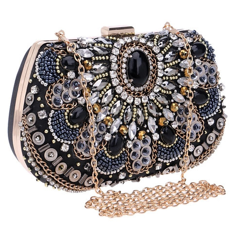 Embezzled Evening Bag