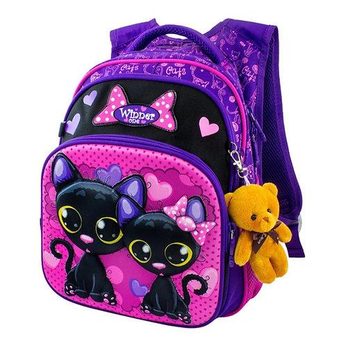 3 D Cartoon Backpack