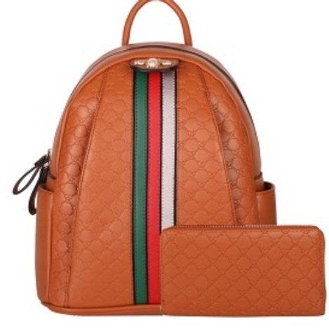 Bee Backpack (Brown)