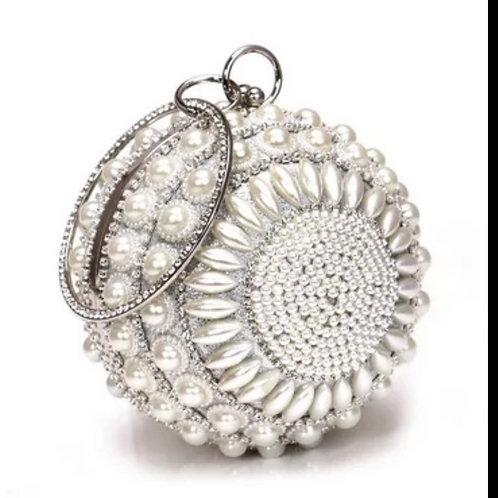Elegant Pearl Evening Bag