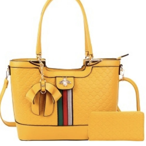 Yellow Bee Handbag