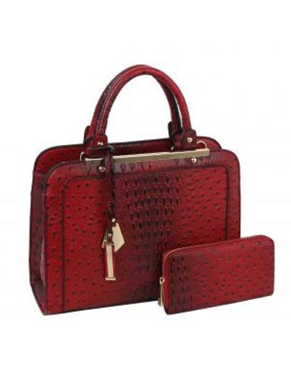 Burgundy LeMiel Handbag