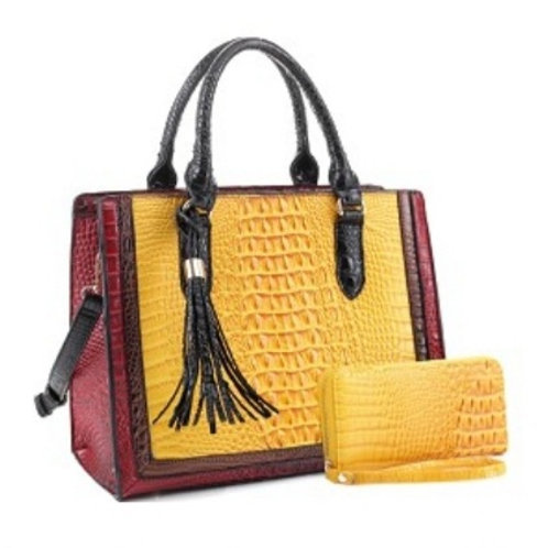 Emperia Handbag (Yellow)