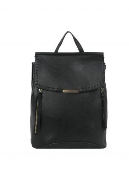Black Backpack Made by LeMiel