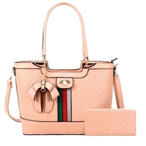 Pink Bee Handbag