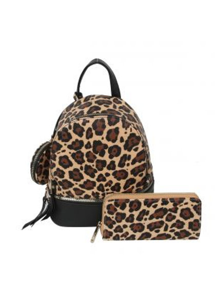 Leopard Backpack 3 in 1