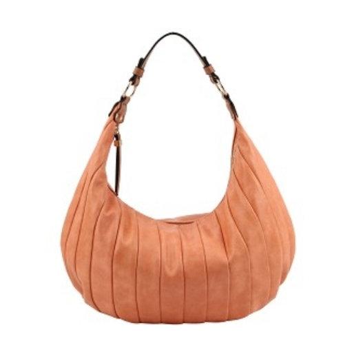 Peach Hobo Handbag