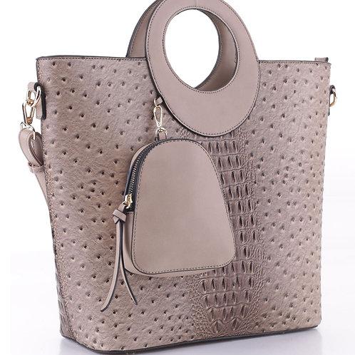 LeMiel Handbag (Stone)