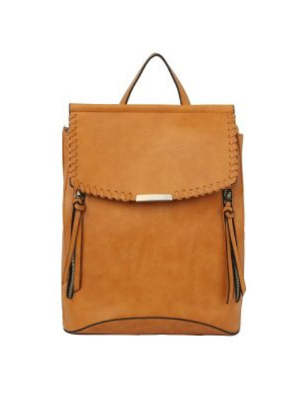Brown Backpack Made by LeMiel