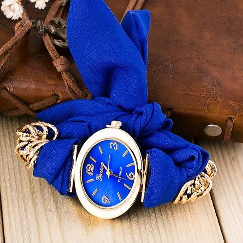 Blue Tie Watch