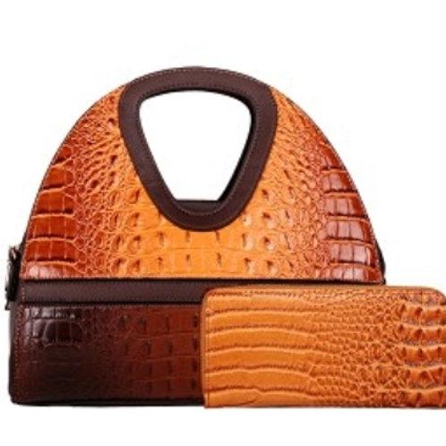 Diophy Handbag (Caramel)
