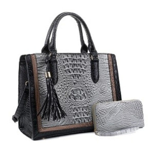 Emperia Handbag (Gray)