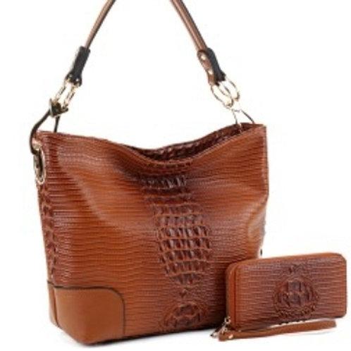 LeMiel Cognac Handbag