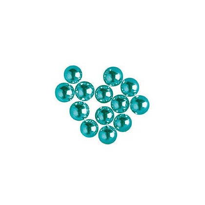 Blue Sugar Pearls 4mm