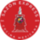 red Sazon Express logo circular shape 4.