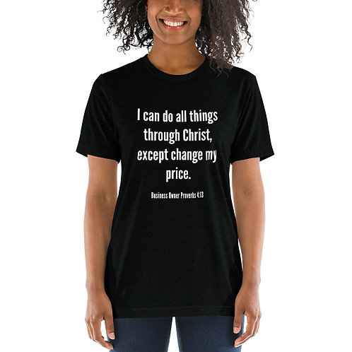 Business Proverbs Short sleeve t-shirt Add'l Colors