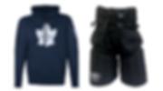 Custom hockey pants