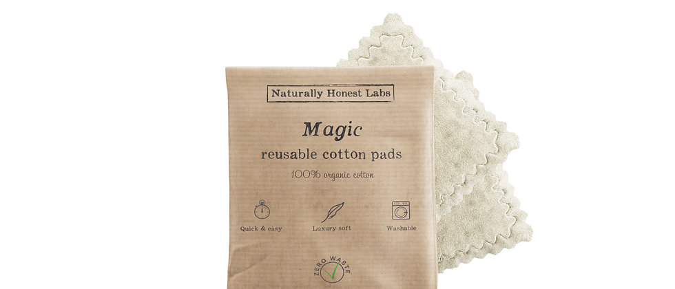 """Magic"" Reusable Cotton Pads - a pack of 2"