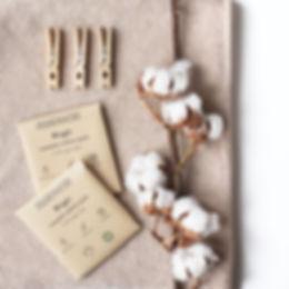 reusable washable cotton pads organic zero waste